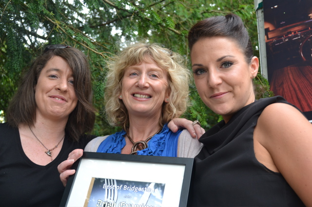 Best service/hospitality - The Cornstore, Cork from left: Colette O'Connor, Mags