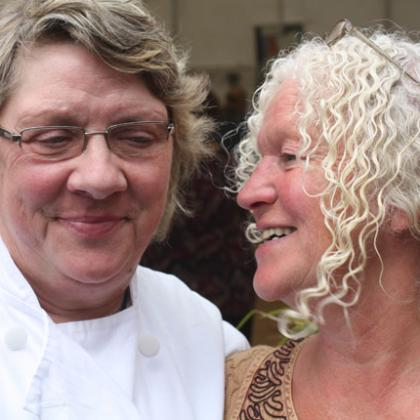 Mary Burns (Ardrahan) and Helene Willems (Coolea)